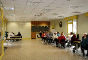 La salle raboliot du Centre Maurice Genevoix