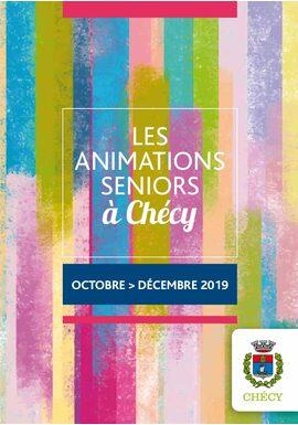 Programme des animations seniors octobre – décembre 2019