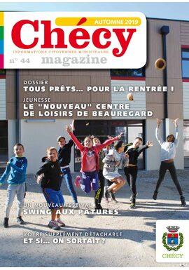 Chécy magazine numéro 44 – automne 2019