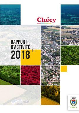 Rapport d'activité 2018 – ville de Chécy